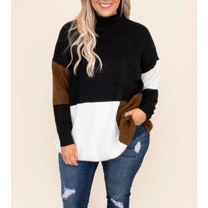 Chic Soul color block sweater